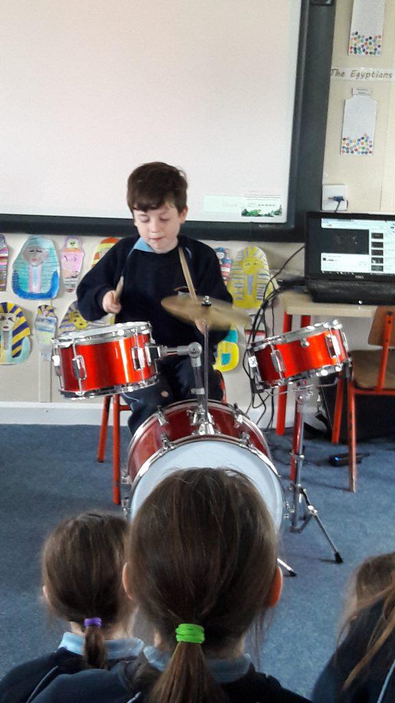 Rock or Bust Drummer