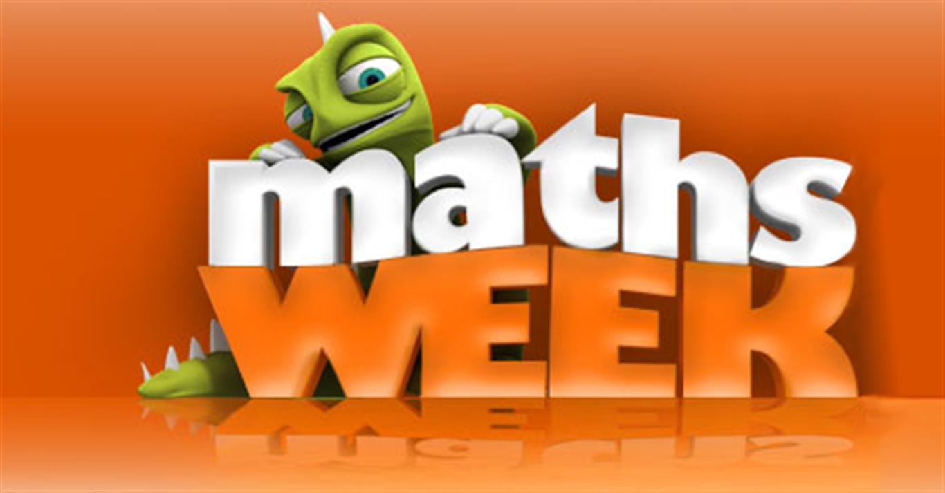Maths week poster