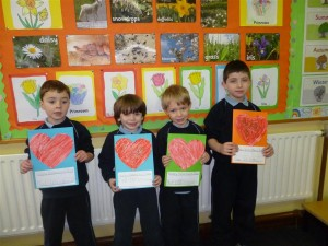 Happy Valentine S Day From Junior Infants