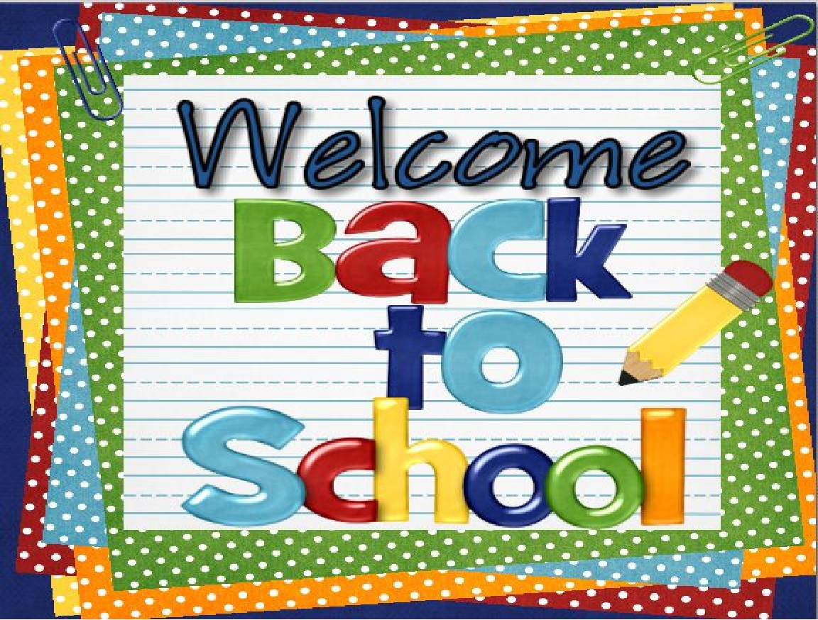 Welcome Back To School on Pre K Kindergarten First And Second Grade Ideas